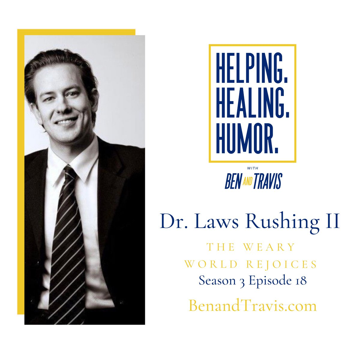 "Get the audio version of our newest podcast ""The Weary World Rejoices with Dr. Laws Rushing II"" Part 2: https://t.co/2ozk1a1a69 #Christmas #Advent #Christmas2020 #mentalhealth #MentalHealthAwareness #MentalHealthMatters #grateful #newpodcast #newpodcastalert #podcastlife #ebook https://t.co/wjH1TPCmkh"
