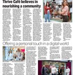 Image for the Tweet beginning: #Carlow business success' @Thrivecafe_ &