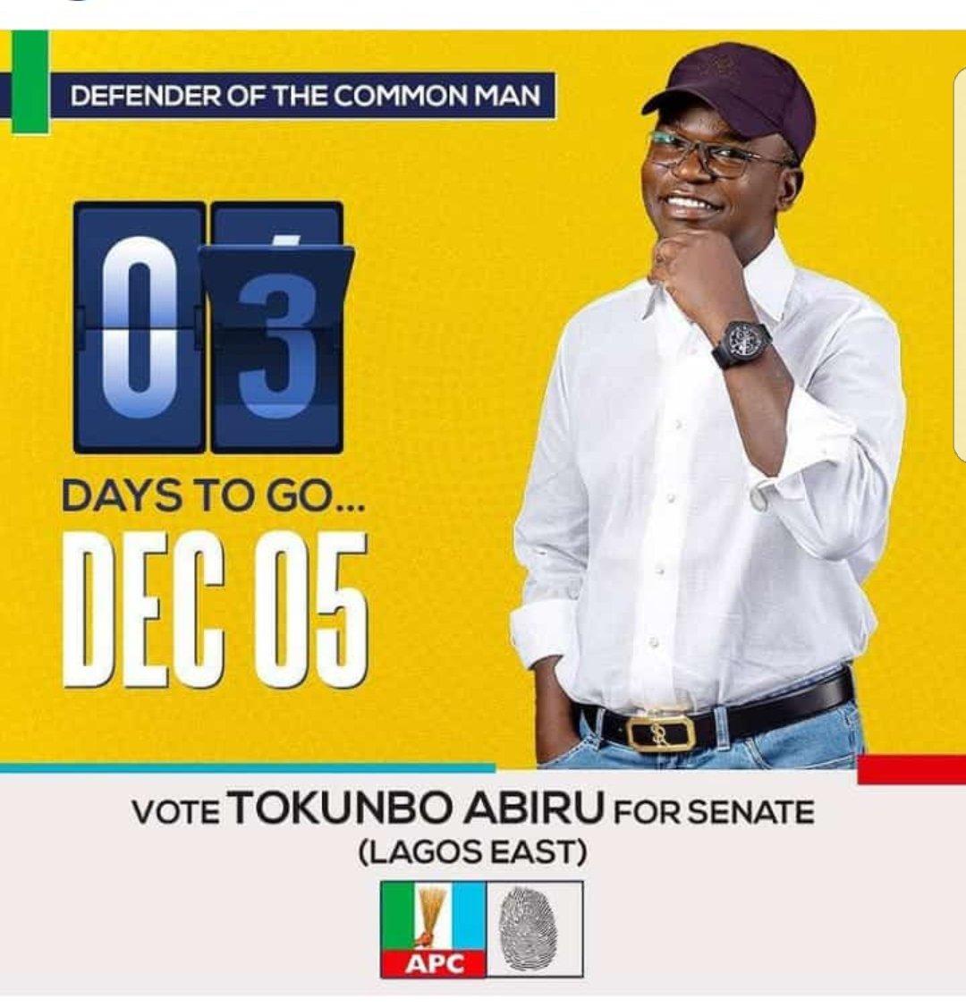 #tokunboabiru #tact #senate #lagos #Nigerian #Nigerians #lagoseastdebates #lagoseastdecides #nigerianyouths https://t.co/jhb3Z2mlYl