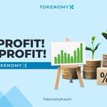 Image for the Tweet beginning: Trading di TokenomyX pasti PROFIT