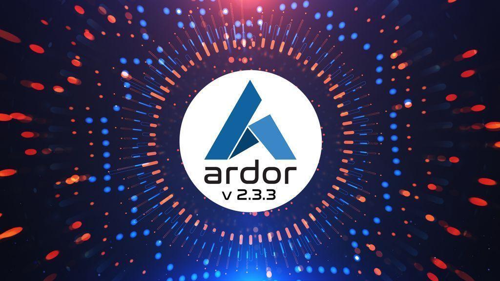 Tweet by @ArdorPlatform