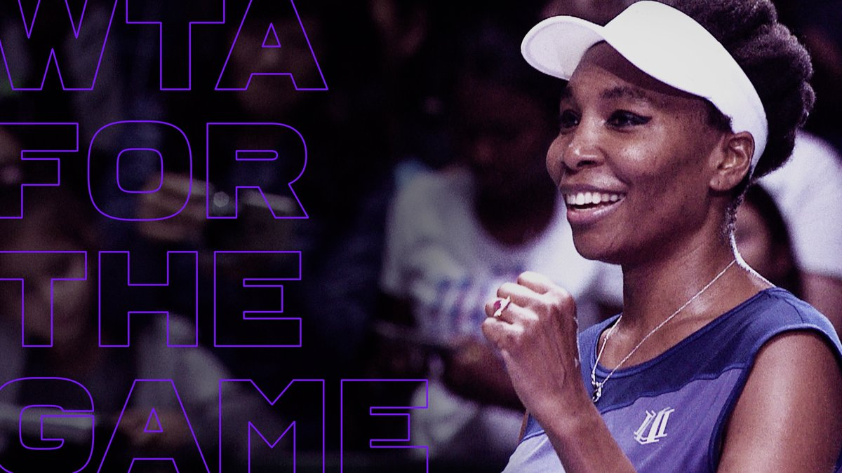 An exciting new era indeed 👏   #WTAForTheGame | @WTA  https://t.co/dVXa9HfO0z
