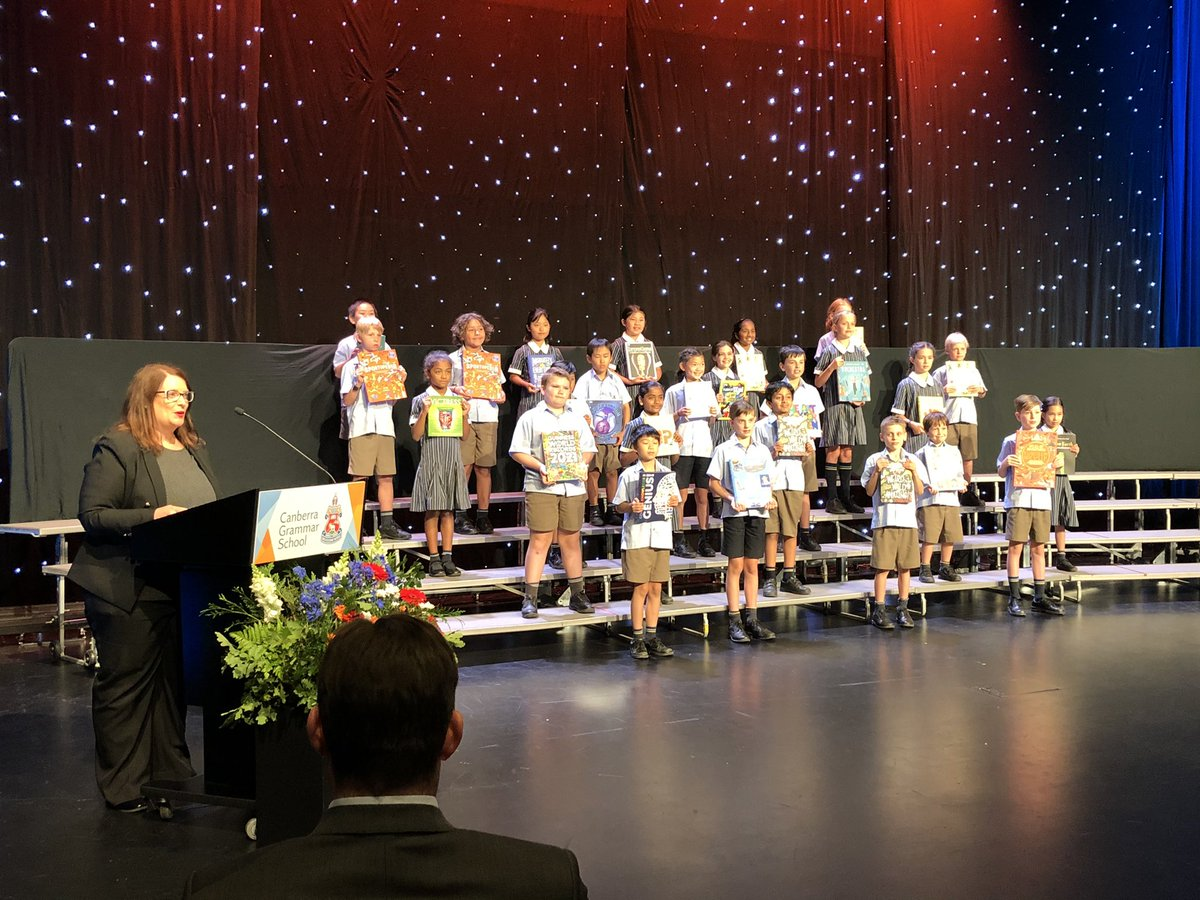 Congratulations to all award-winners & performers of @CanberraGrammar Primary Presentation 2020 - and to all who've made the year in #CGSPrimary so good. Online this year but still very special & so much to make everyone happy & proud. Thanks to all who made it happen!