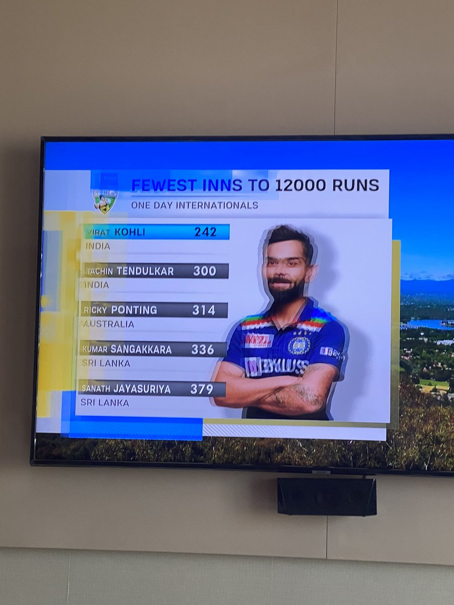 This man is a legend period. In India we have this habit of putting people on a pedestal & then just trying to take them down. But this man has been going consistently for the last so many years @imVkohli you are amazing. Way above the rest. Keep going #India needs you @BCCI 🙌