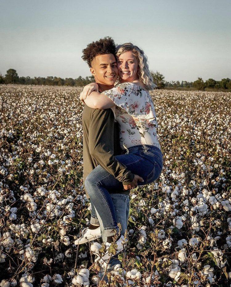 In a cotton field?
