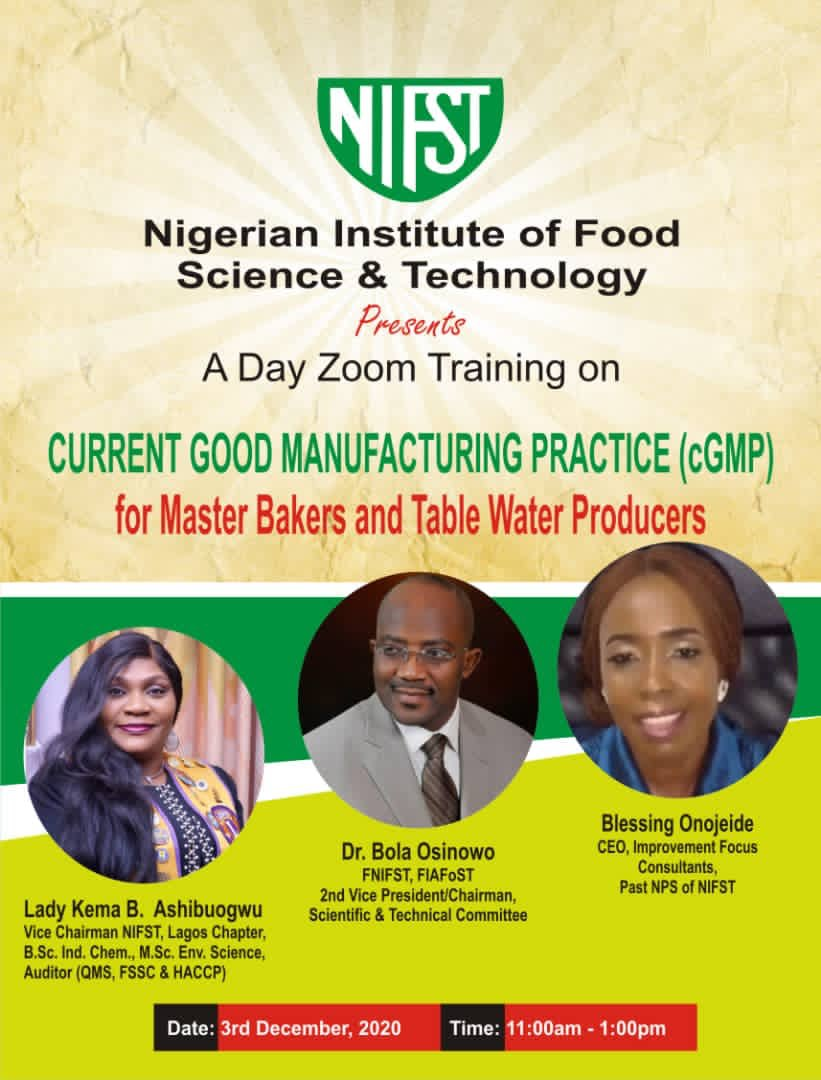 nGMP...  #training #nifst #foodscientist #foodhandlers #bakers #tablewater #producers #restaurants #fda #cateres #chef #foodindustry #foodprocessors https://t.co/cOjnXKwO5B