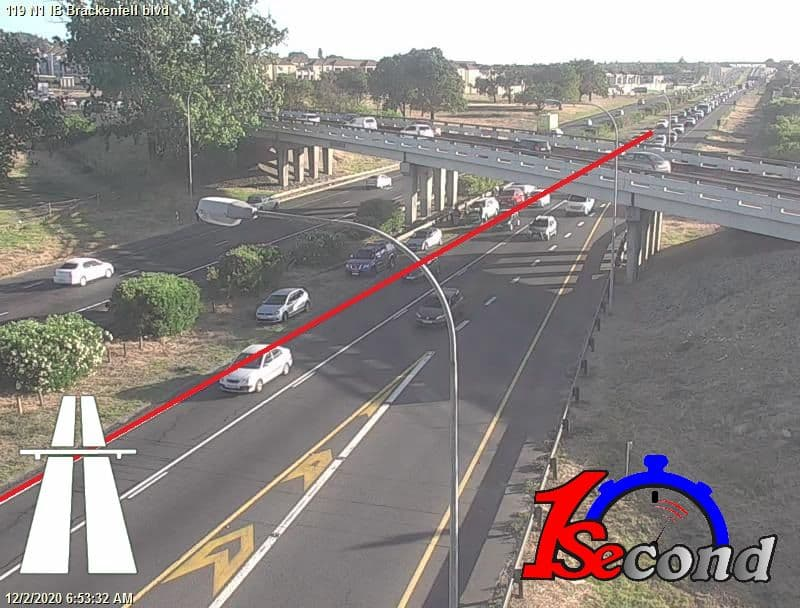 MVA: N1 Inbound at Brackenfell Blvd .  All lanes open. Expect Delays.  @1SecondLater #1SecondTelegram #1Second #1SecondZello https://t.co/F10GrvEtsx