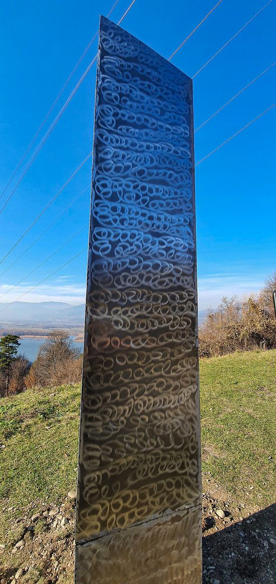 test Twitter Media - A metal monolith that mysteriously appeared on a hilltop in northern #Romania has sparked curiosity and mockery online, having come just days after a similar object was found in the #Utah desert. https://t.co/UDvFtRK4oC