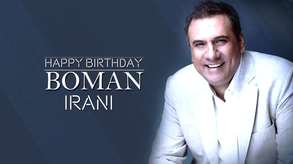 Here's wishing the actor, who can mould himself in any character effortlessly, @bomanirani a very Happy Birthday! ❣️  #HappyBirthdayBomanIrani #BomanIrani