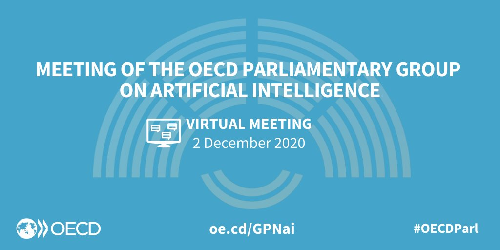 Im Februar noch als Präsenzveranstaltung in Paris nun online.  Beide Male tolle Einblicke - nun auch gerade im Rückblick auf die Erfahrungen in und aus der Pandemie. #OECDParl