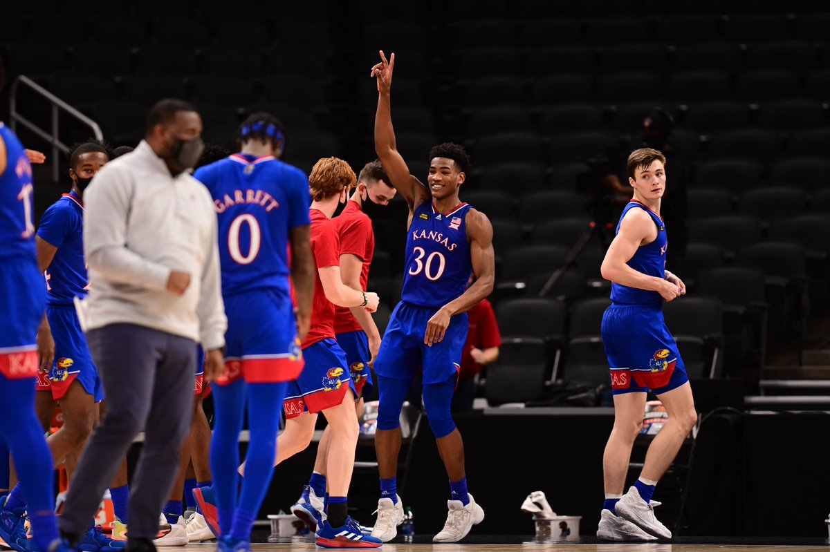 It's been real, @championclassic ✌️  We're Lawrence bound!   #RockChalk x #KUbball