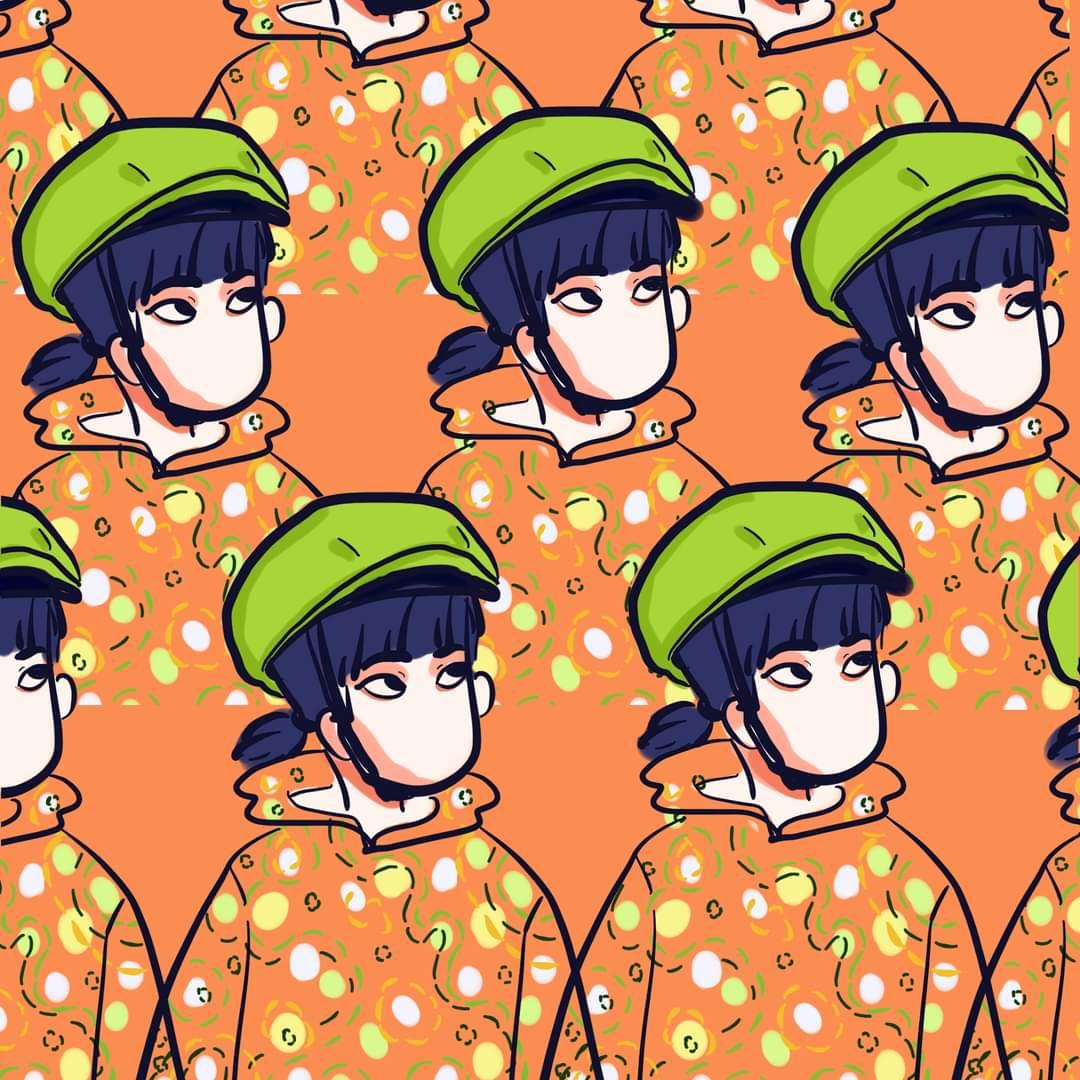 Raincoat and helmet #illustration #illustrator #digitalartwork #originalart #orange #raincoat #artistsontwitter #myart #doodle https://t.co/X0L7nVBiPn