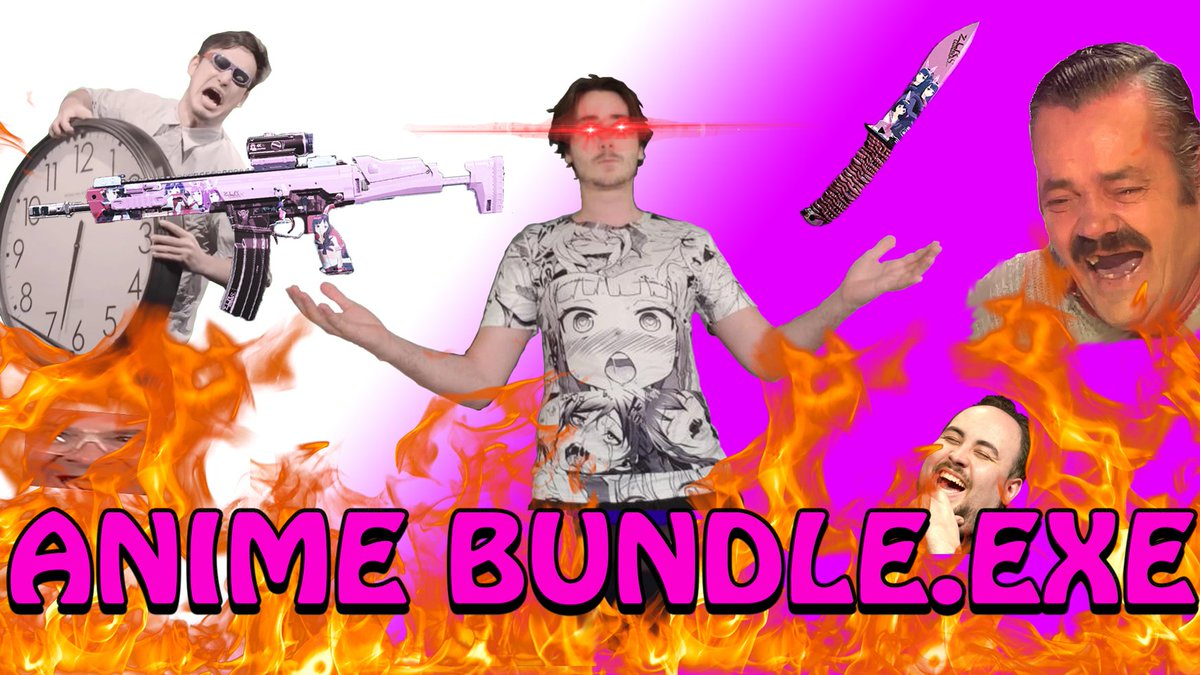 THE ANIME BUNDLE EXPERIENCE! This took so long to edit and I'm so happy with how it turned out :D Enjoy~  -> https://t.co/TQaHzgR1az <-  #anime | #warzone | #CallofDutyModernWarfare | #MEMES https://t.co/zdqPNmWtNY
