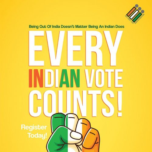 Want To Vote But Don't Have A Voter Id ? Come And Get Your Voter Id Done From Smart Citizen Online Services As Every Vote Counts ! And Being A Citizen Voting Is Our Major Right . #Vote #VOTING #Righttovote