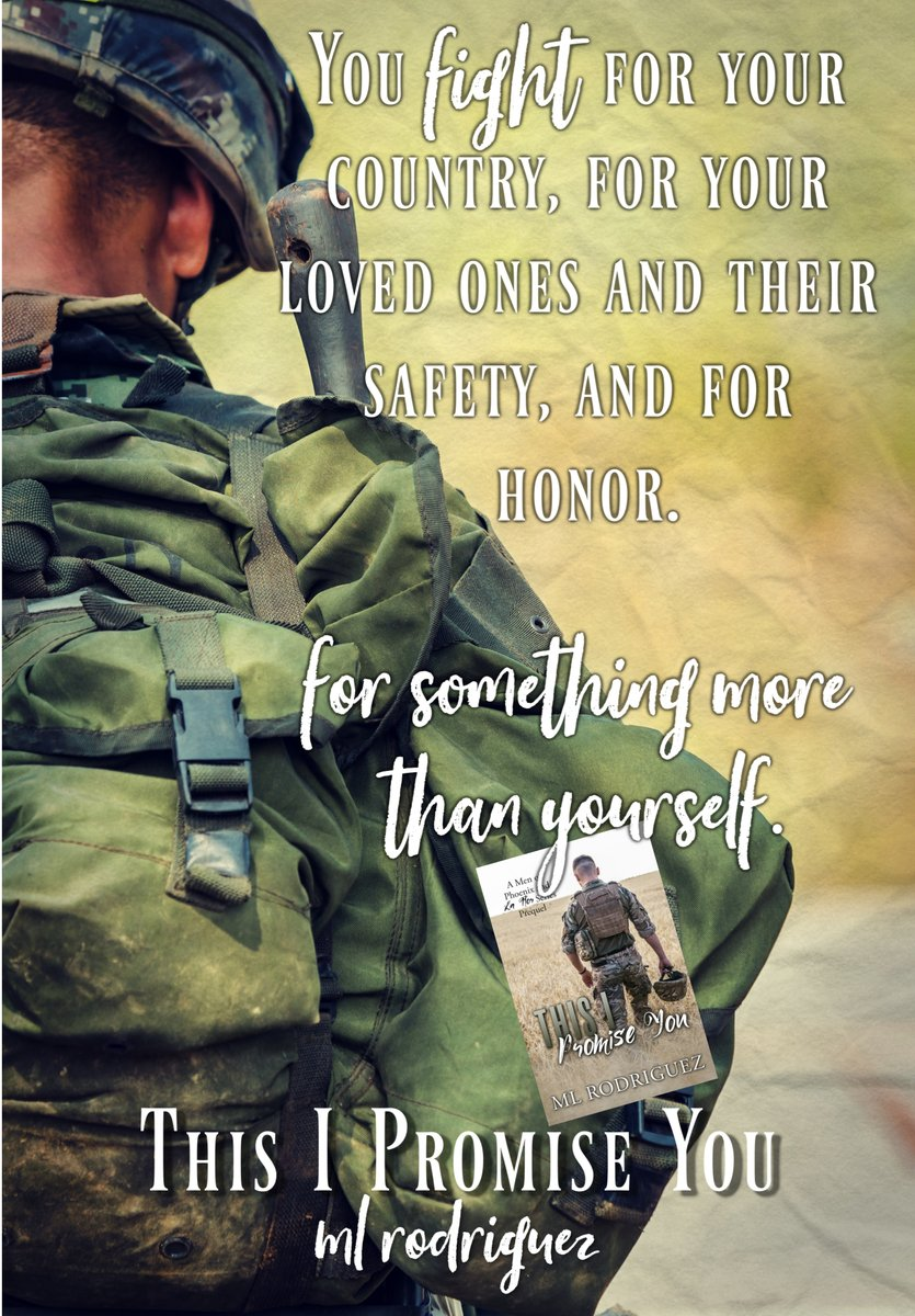 """LOVE, DUTY, SACRIFICE """"Because nothing makes a man greater than what he's willing to do and sacrifice for the betterment of those he loves . . .""""  Full-length, military #LoveStory is available  on  #KindleUnlimited: US:  UK:  #books"""