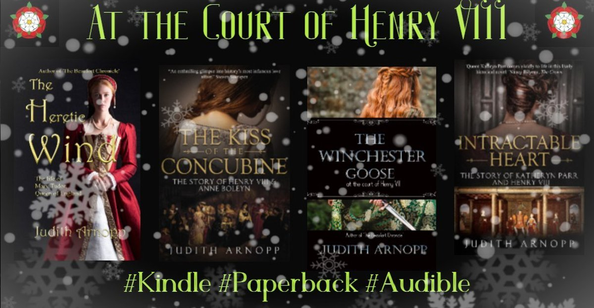 When the weather outside is frightful, the Tudors are quite delightful ...    #Christmasreading #Christmasgifts #Books #Kindle #Paperback #Audible