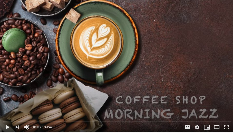 #jazz #morningjazz #positivemood #relaxingmusic #cafemusic #coffeeshop #music #studymusic #workmusic #chillmusic #chill #blues Coffee Shop Morning Jazz   Good Time for Relax  Click on this link to watch the video: https://t.co/Nvwjs5YF6A https://t.co/iBZurQw6g7 https://t.co/702ra2SAsY