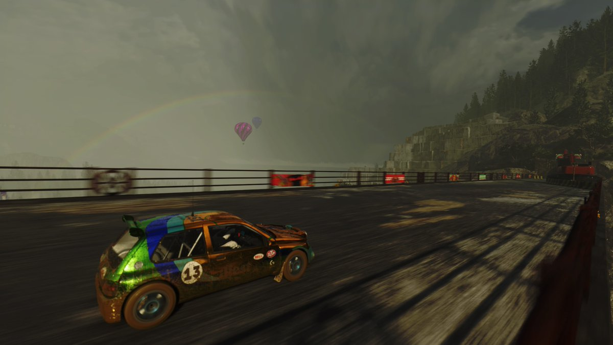 Chasing rainbows again in #Dirt5! #PS4share @dirtgame