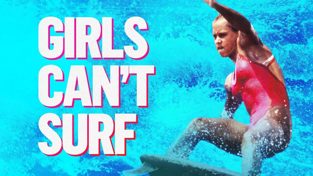 """Here is the official trailer for #GirlsCantSurf 🏄♀️💪  """"An empowering history of badass women."""" – @Steph_gilmore. Coming to Australian cinemas March 2021."""