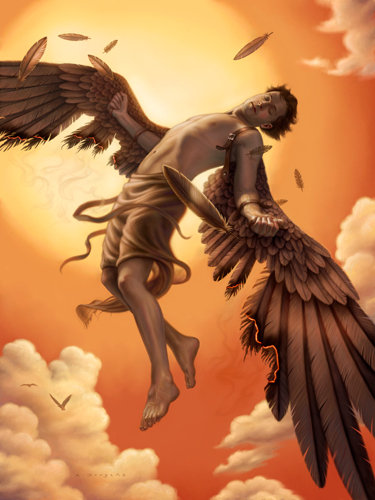 """Read my new article on """"The #IcarusParadox and #StrategicManagement""""    Vande Mataram... #StaySafe #StayHome #smallbusiness #motivation #success #Entrepreneurs #Fortune500 #Growth #management #business #marketing #strategy #paradox #GreekMythology #Icarus"""