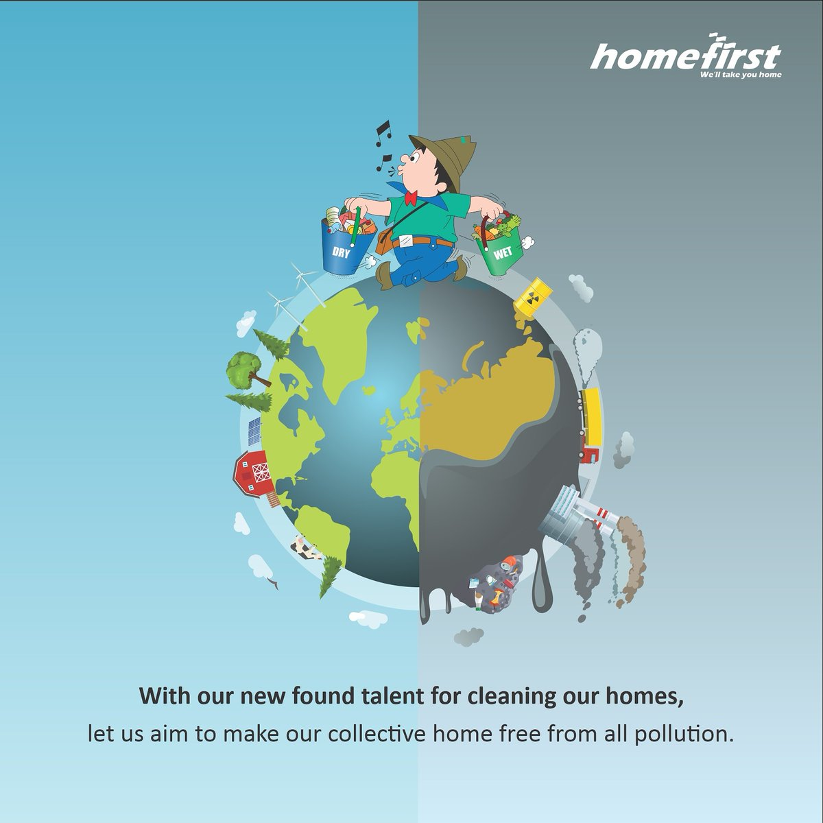 This Pollution Control Day, HomeFirst wishes you all a year clean in thoughts, intentions and actions.  #pollution #pollutioncontrol #pollutionfree #clean #world #air #water #land #forest #preserve #stoppollution #awareness #environment #stepahead #ClimateAction #home #HomeFirst https://t.co/wfS8E5W9WX