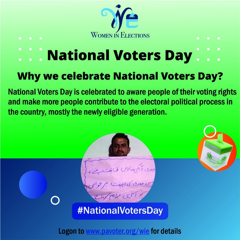 Do you know about your voting rights? For more information click:   #NationalVotersDay #VotersDay #Vote #ECP #ElectionCommissionPakistan #VotingRight #YourVoteMatters #VoteforFuture @Election_Pak @ECofPAK @IFES1987