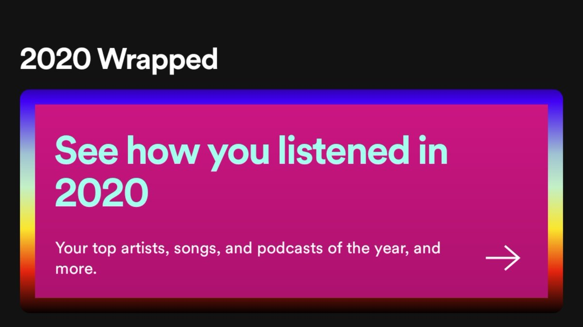 Let us know the top podcasts you've listened to this year by sharing a screenshot and tagging us!   (#2020Wrapped available on the homepage of Spotify)  #SpotifyWrapped #Spotify #IVMPodcasts https://t.co/xG9OFONXsK