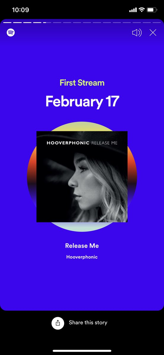 100 stream in 12 days 👂🏼 Release Me is the best #Eurovision 2020 song. @HooverphonicOff https://t.co/zaPmn5bTzK