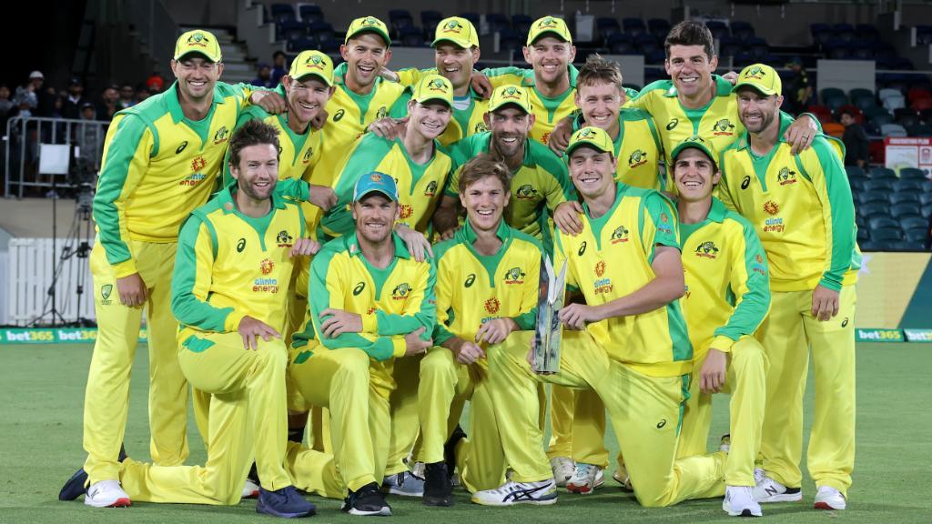Australia take the ODI series 2-1 🏆   #AUSvIND