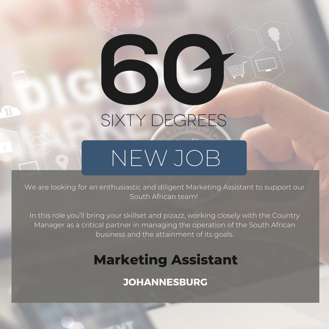 test Twitter Media - New #JobAlert - Marketing Assistant in Johannesburg  https://t.co/9Q5OcM8QbM  #60Degrees #60DRecruiter #60Droles #marketingcareers https://t.co/b8Be0gxQcj