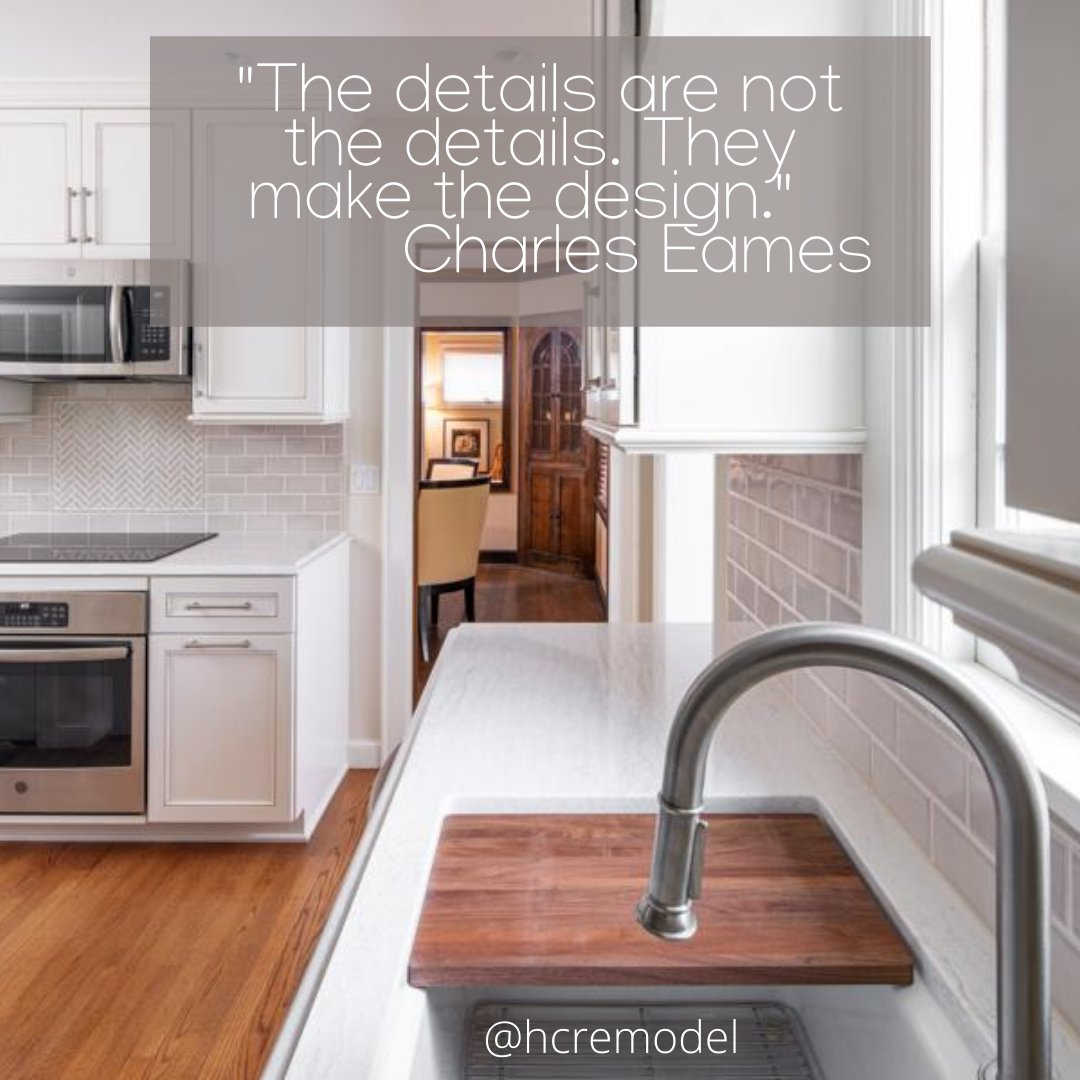 Getting the details right makes all the difference! #hcremodel #omahanebraska #omahadesign #omaha #omaharemodel #omahastyle #housetour #interior123 #wednesdaywisdom #housegoals   Design by HC Photo Credit: #thomasgradyphotography