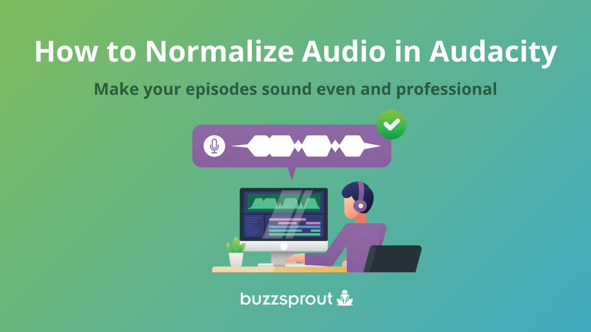Uneven audio is frustrating for every podcaster! 😡  @getaudacity now has the Normalize Audio tool which adjusts audio levels  w i t h o u t  affecting their dynamic range. Yay! 🎉  Simplify your audio mixing and learn more here: https://t.co/zLSLRBkPI1  #PodcastingTips https://t.co/j3pB5EMLjE