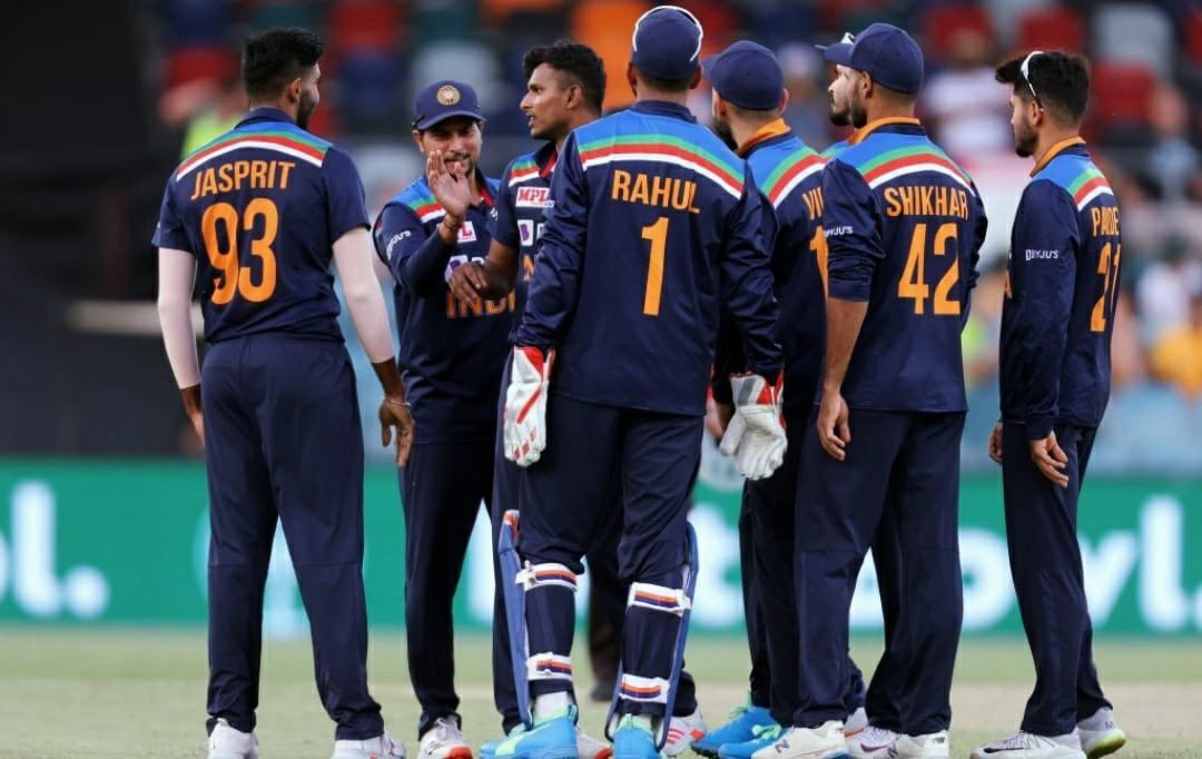 Complete team effort 🇮🇳💯 Well done @hardikpandya7 and @imjadeja 🙌