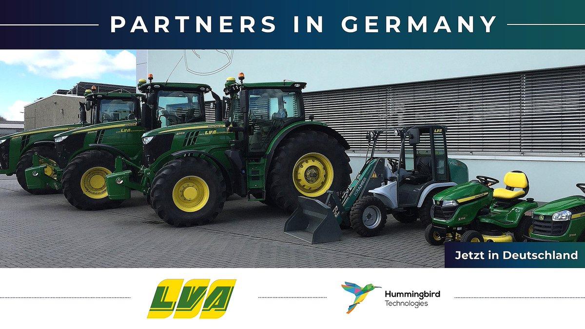 Another @JohnDeere dealership on board! Our first in Germany: our NEW partnership with LVA Landmaschinen. 🇩🇪 Die LVA Unternehmensgruppe hat Niederlassungen in Sachsen-Anhalt, Brandenburg und Niedersachsen.  Welcome! 🤝 Herzlich willkommen https://t.co/YjdzE0xYvj