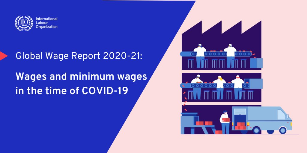 Lower-paid workers have been disproportionately affected by the #COVID19 crisis, increasing wage inequalities. Adequate minimum wages can protect workers and reduce #inequality. Read the Global Wage Report 2020-21: buff.ly/3odAIhp