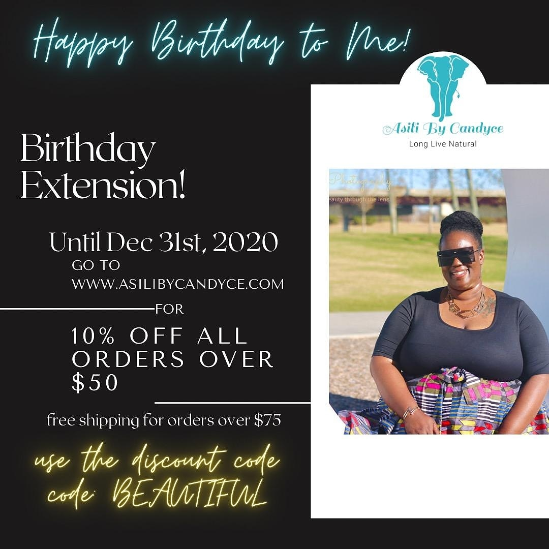 ITS MY BIRTHDAY 🥰🥰🥰🥰 GO SHOP AND SAVE THRU 12/31/2020  #itsmybirthday #Celebrations #businessowner #entrepreneurlife