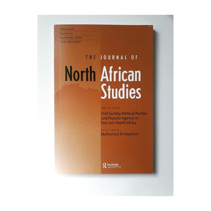 Out Now: #JNAS 25, 6!! Special Issue: Civil Society, Political Parties and Popular Agency in Post 2011 North Africa.  #JNAS #NorthAfrica #civilsociety #post2011