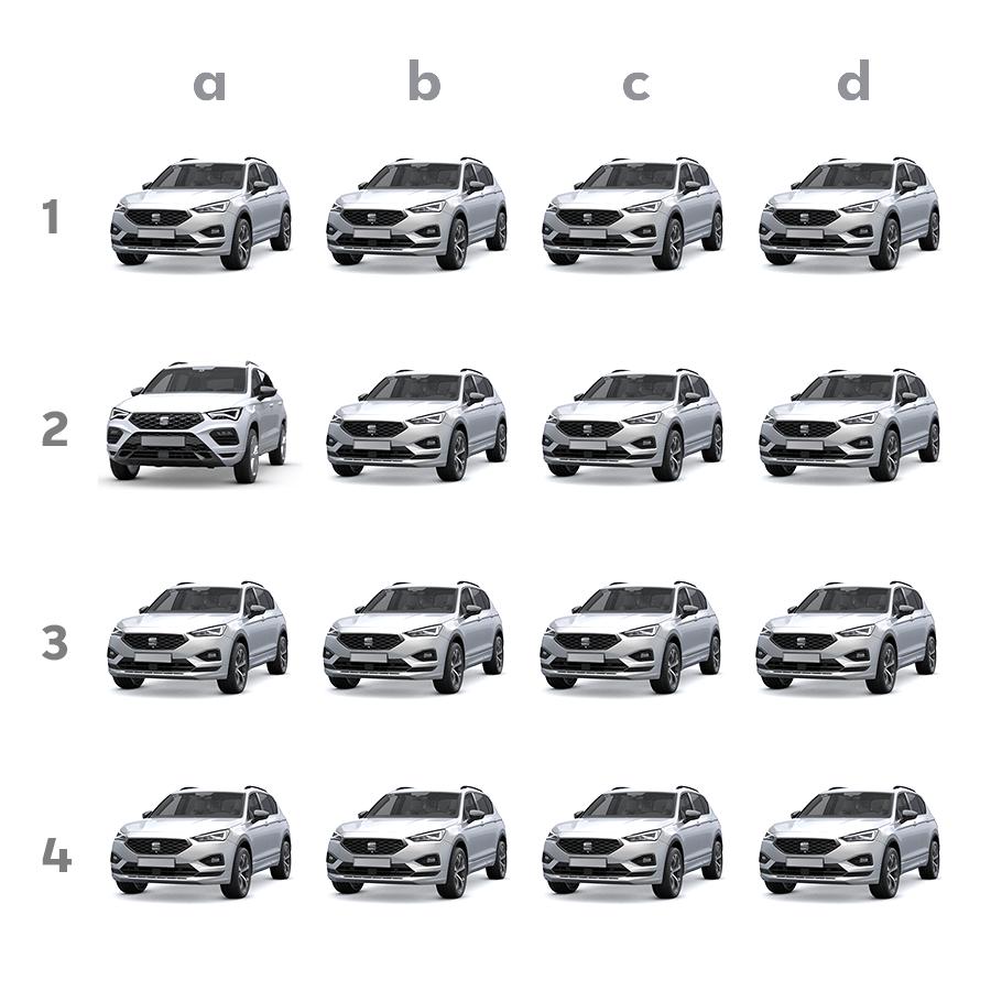 Hay un SEAT Ateca escondido entre todos estos Tarraco... ¿Lo has visto ya? 🧐🔎  🔗 https://t.co/y56FYG92Jx  #autofuber #concesionario #coches #motor #vehiculos #carswithoutlimits #seat #ateca #tarraco #seatateca #seattarraco #seatlovers #juego #diferencias @tuSEAT @SEATofficial https://t.co/tbPspZosuQ