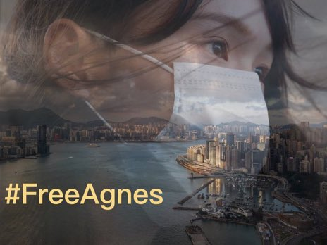 Jailing A young woman like Agnes Chow and young men like Ivan Lam and Joshua Wong - simply because they love Hong Kong - is a travesty of justice. You cannot fight the future, time is on their side. https://t.co/O6hpN5J9FT