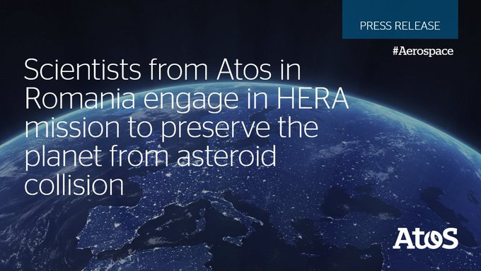 One more step toward our Space Odyssey!💫 #DigitalTransformation experts from Atos Romania are...