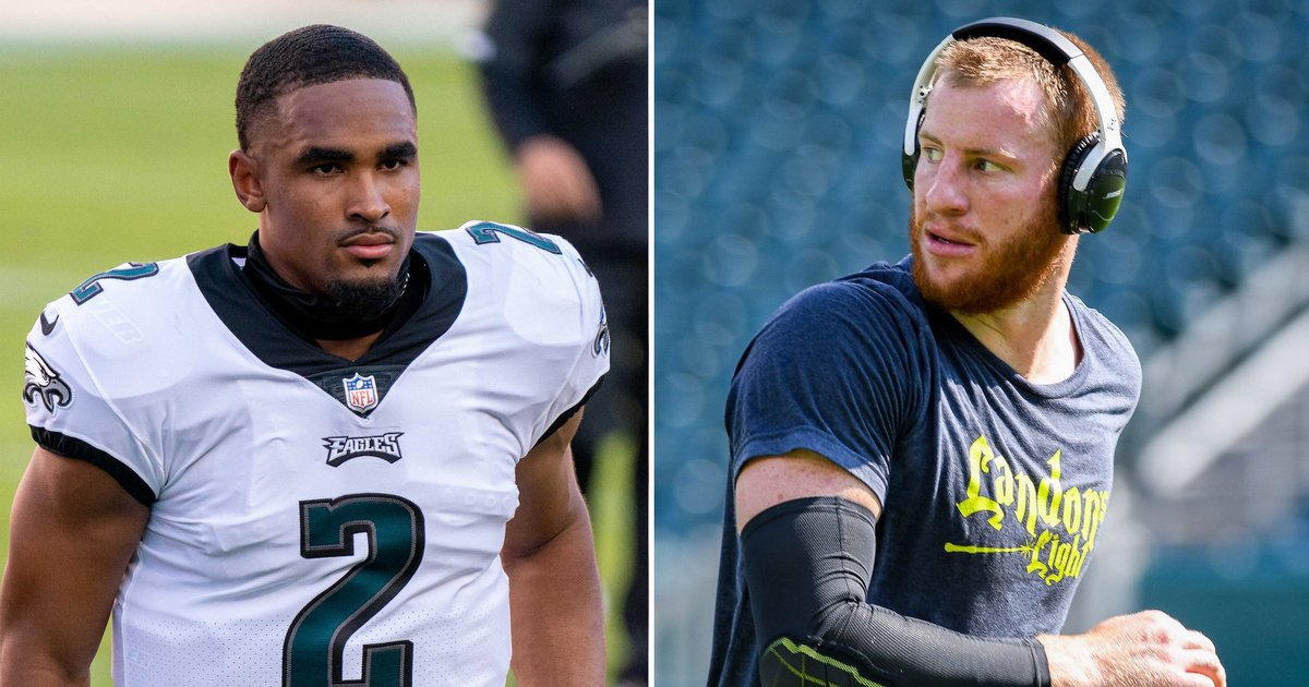 Report: Jeffrey Lurie told Eagles to play Jalen Hurts if Carson Wentz continues to struggle  #Sports #Eagles