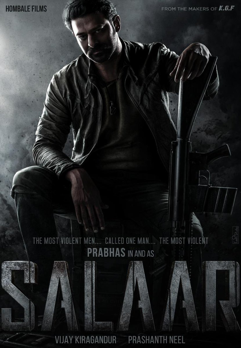 Make way for one of 2021's biggest film – Superstar #Prabhas @hombaleFilms and filmmaker @Prashanth_Neel come together for  #Salaar (which will be multi lingual).