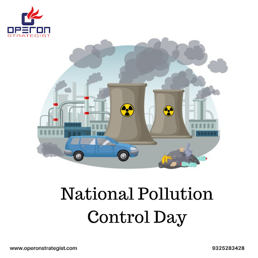 This National Pollution Control Day Think. Breathe. Act #pollutioncontrol #pollutioncontrolday #pollutionfree #earth #nature #trees