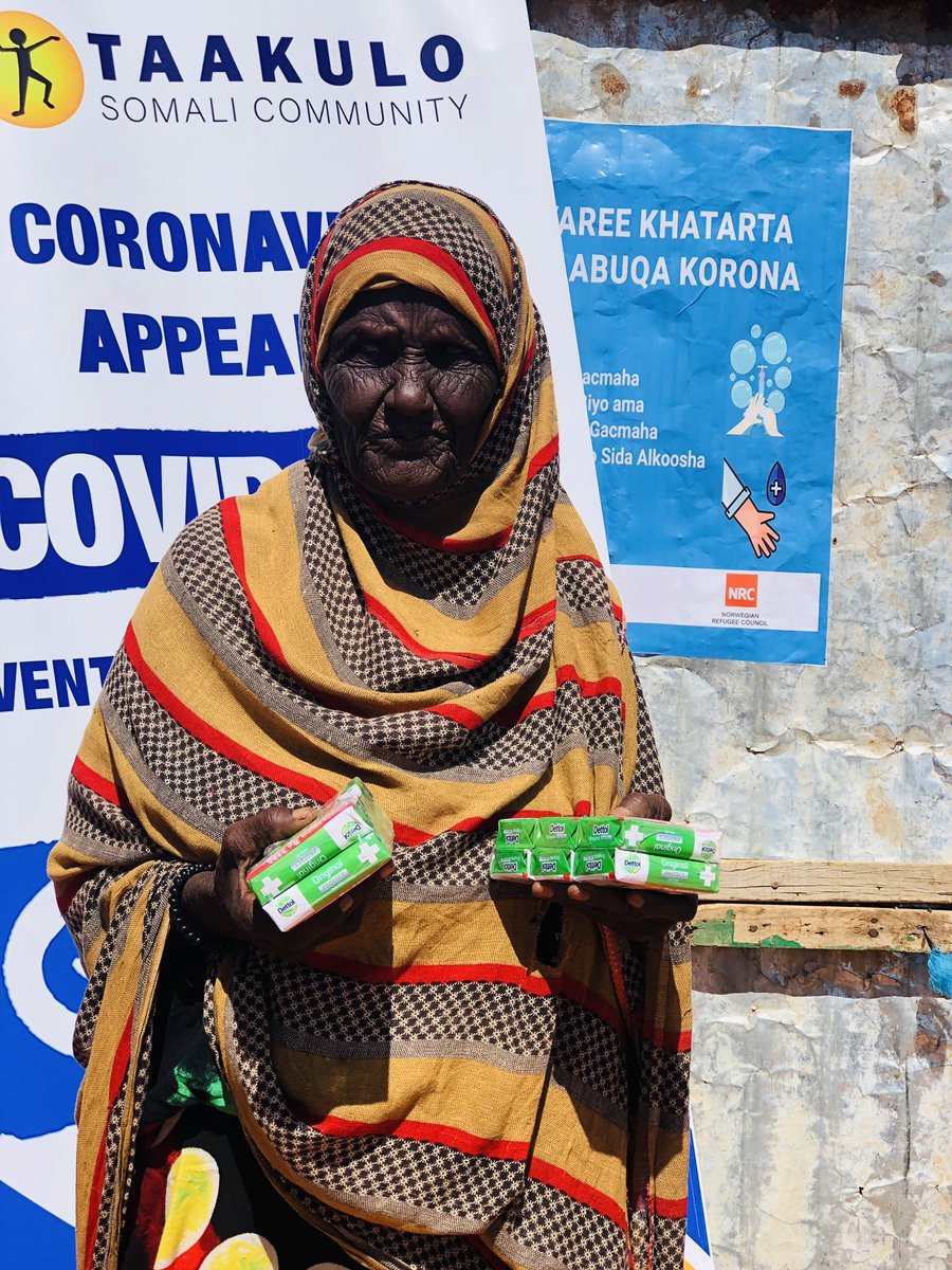 Taakulo staff distributed hygiene supplies and shared prevention tips for COVID-19 as well as worked to educate our community and mobilize as well as take into account any suggestions, concerns or worries of community members #decappeal @PlanGlobal @PlanUK