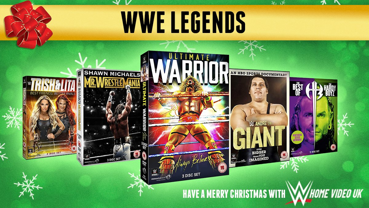 Its #WinItWednesday & we are giving away this amazing bundle of DVDs, featuring some of the biggest and best WWE Legends. Follow & RT for a chance to #win this brilliant #competition