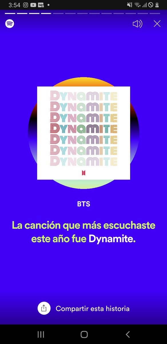 Lo que más escuché es Spotify  I'm voting for #QuaranteamBTS in #TheLockdownAwards on @LiveXLive