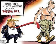Those Russian ties #BiggestLoserTrump were not so fine
