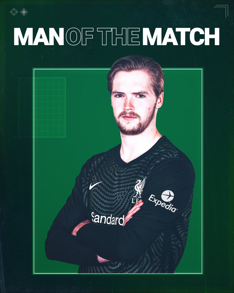 Caoimhin Kelleher is your #LIVAJA Man of the Match, after a magnificent @championsleague debut 🔥