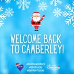 Image for the Tweet beginning: Welcome back to Camberley! Please