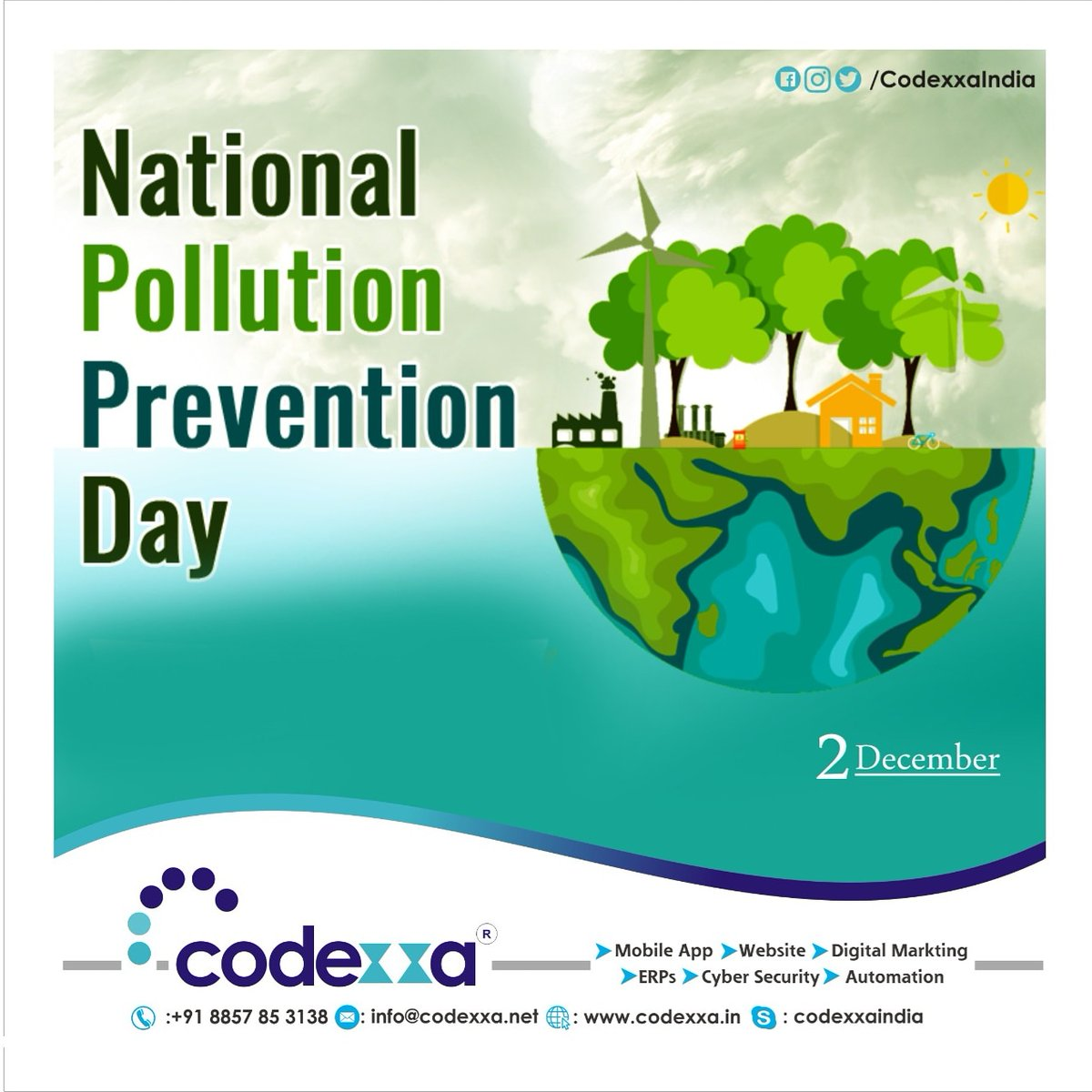The activist is not the man who says the river is dirty. The activist is the man who cleans up the river,  said Ross Perot long ago. On World Pollution Prevention Day,  let us spread the word and do what we can to reduce pollution. #airquality #nature #covid #pollutionfree